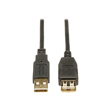 Tripp Lite U024-003 USB 2.0 Gold Extension Cable, 3'(L)