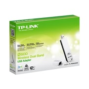 TP-LINK TL-WDN3200 N600 Dual Band Wireless USB Adapter, 2.4GHz 300Mbps/5Ghz 300Mbps,One-Button Setup