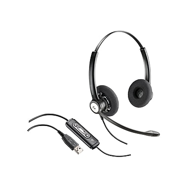 Plantronics C620 Binaural Earpiece Blackwire Headset