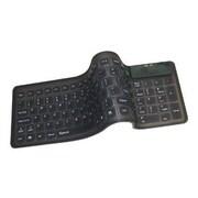 Adesso® AKB-220 Compact Waterproof Flexible Keyboard