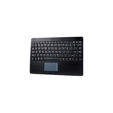 Adesso WKB-4000UB USB RF Wireless Slim Keyboard, Black