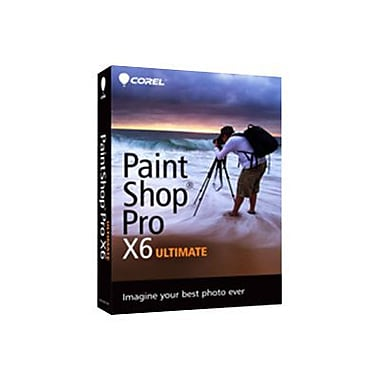 Corel™ PSPX6ULENMBAM PaintShop Pro X6 Ultimate Photo Editing Software