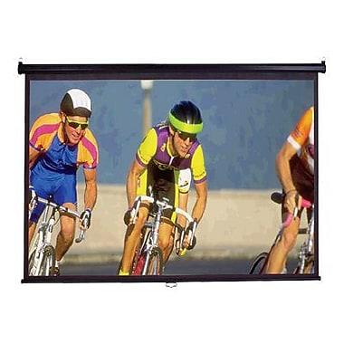Elite Screens® Manual Series 136in. Manual Projection Screen, 1:1, Black Casing