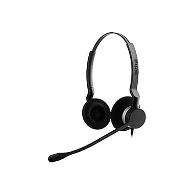Jabra BIZ 2399-823-109 Wired USB Duo Headset, Black