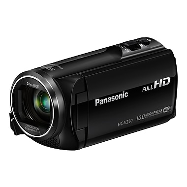 Panasonic-Cameras Full Hd Wi-Fi Enabled Hc-V250k 50x Camcorder
