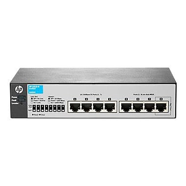 HP® Smart Buy 1810 Managed Fast Ethernet Switch, 8 Ports