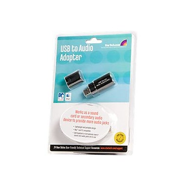 Startech.com® USB Stereo Audio Adapter External Sound Card