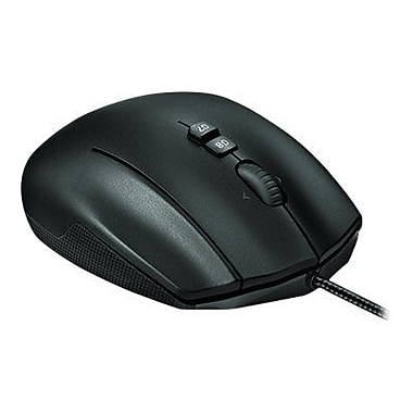 Logitech G600 MMO USB Wired Gaming Laser Mouse, Black