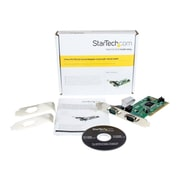 StarTech PCI2S550 2 Port PCI Standard Profile Serial Adapter Card