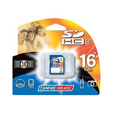 Dane-Elec DA-SD Secure Digital Flash Memory Card, 16GB