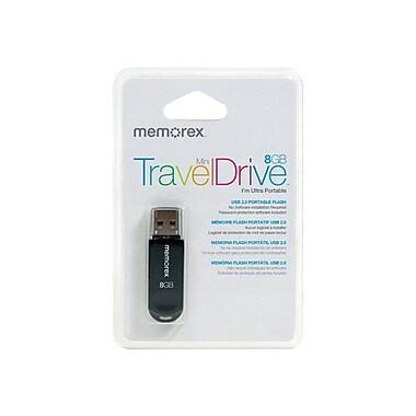 Imation Memorex™ Mini TravelDrive 98179 USB 2.0 Flash Drive, 8GB