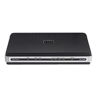 D-Link® ADSL2/2+ 4 X Fast Ethernet LAN Modem Router