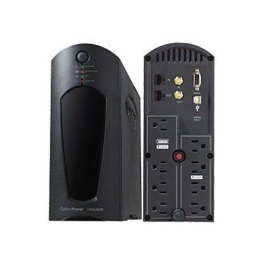 Cyberpower® AVR Series Line Interactive 1.5 kVA UPS