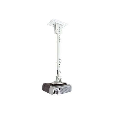 Atdec Telehook™ TH-WH-PJ-CM Projector Ceiling Mount With Extension, White