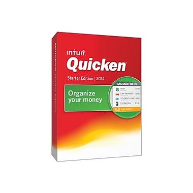 Intuit® Quicken Financial Management 2014 Starter Edition Software, 1 User