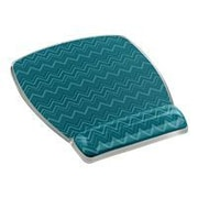 3M™ MW308 Fun Design Rubber Base Mouse Pad For Keyboard, Chevron Green