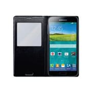 Samsung S-View Cover Carrying Case For Samsung Galaxy S5, Black