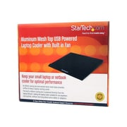 StarTech Cooling Pad With Built in Fan For Laptops, Black