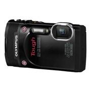 Olympus® Tough TG-850 16MP Compact Digital Camera, Black