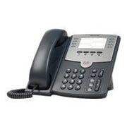 Cisco SPA501G 8-Line Corded VOIP Telephone, Black/Gray