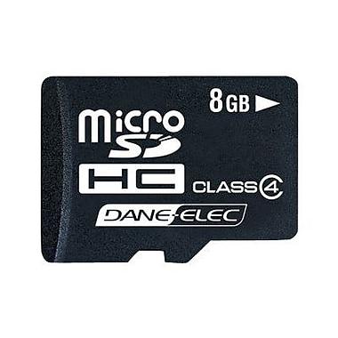 Dane-Elec DA 2-In-1 MicroSD High Capacity Flash Memory Card, 8GB