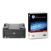 HP® B7B69A#ABA 1TB RDX1000 USB 3.0 Technology External External Disk Backup Hard Drive Cartridge