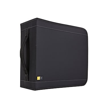 Case Logic® Nylon 32 CD Wallet, Black, Each