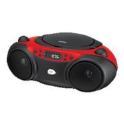 GPX® BC232R Radio/CD Player Boombox
