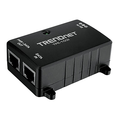 TRENDnet® TPE-103I PoE Injector For Switches/Access Points/IP/Cameras