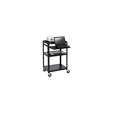 Bretford® AV Notebook Cart With 6 Outlet Electrical, 4in. Caster