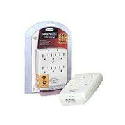 Belkin® F9H620-CW 6-Outlets 1045 Joules Wall Mount Home Series Surge Suppressor