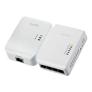 Zyxel® PLA4225 500 Mbps Powerline Network Adapter Kit