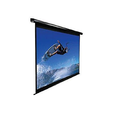 Elite Screens™ VMAX Plus2 Series Series 153in. Electric Wall and Ceiling Projector Screen, 1:1, Black
