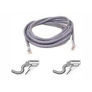 Belkin A3L791-25 25' RJ-45 Male/Male Cat5e Assembled Patch Cable, Gray