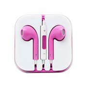 4XEM 4XAPPLEARPODPK Earpod Earphone with Remote and Mic, Pink