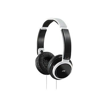 JVC HAS200 Foldable On Ear Headphone, White