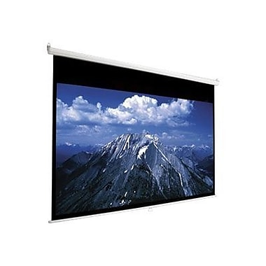 AccuScreens® 800062 94in. Manual Wall and Ceiling Projection Screen, 16:10, White Casing