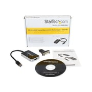 "StarTech 6.3"" USB 3.0/HDMI Male to Female Video Card Multi Monitor Adapter, Black"