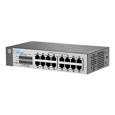 HP® Unmanaged Ethernet Switch, 16 Ports (J9662A#ABA)