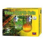 Jaton® NVIDIA® GeForce® VIDEO-228PCI-TWIN Graphics Card, 128 MB DDR