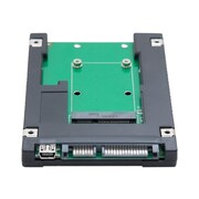 Syba™ 2 1/2 Internal/External SATA to mSATA SSD Adapter For Laptop
