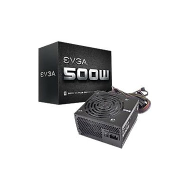 EVGA® 100-W1-0500-KR Main Stream ATX12V Power Supply, 500 W
