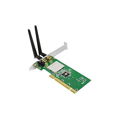 Siig® CN-WR0711-S1 DP Wireless-N PCI Wi-Fi Adapter, 300 Mbps