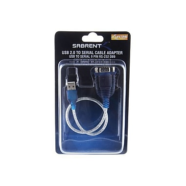 Sabrent USB 2.0 to Serial Transfer Cable, Multi Color