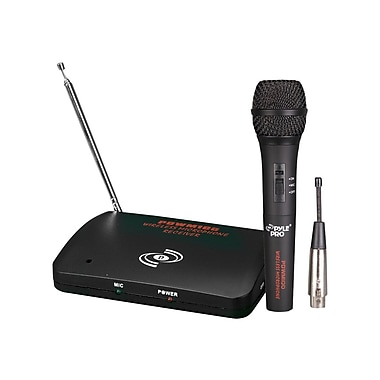 Pyle® Pyle® Pro 1 Channel Wireless/Wired Microphone System