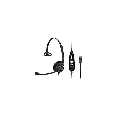 Sennheiser SC 230 USB CTRL Headset, Black/Silver