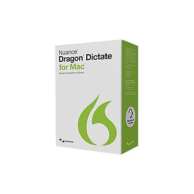 Nuance® Dragon Dictate v.4.0 US English Software For Macintosh