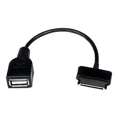 StarTech 6' USB Male to Female OTG Adapter Cable, Black