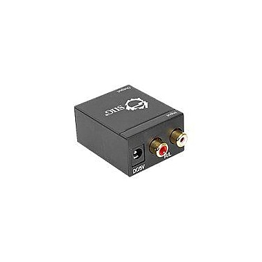 Siig® CE-CV0111-S1 Analog to Digital Audio Converter