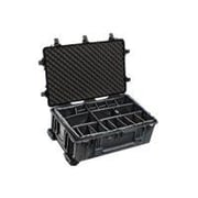 Pelican™ Shipping Box With Padded Divider, Black